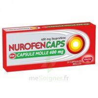 Nurofencaps 400 Mg Caps Molle Plq/10 à Cavignac