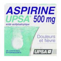 ASPIRINE UPSA 500 mg, comprimé effervescent à Cavignac