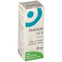 Fluidabak 1,5 %, Collyre En Solution à Cavignac