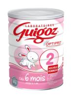 Guigoz 2 Lait Pdre B/800g à Cavignac