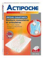 Actipoche Patch chauffant douleurs musculaires B/2 à Cavignac