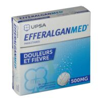 Efferalganmed 500 Mg, Comprimé Effervescent Sécable à Cavignac