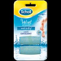Scholl Velvet Smooth Wet&Dry Rouleaux de remplacement grain exfoliant à Cavignac