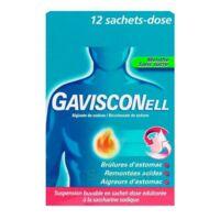 GAVISCONELL Suspension buvable sachet-dose menthe sans sucre 12Sach/10ml à Cavignac