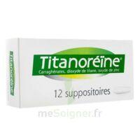 Titanoreine Suppositoires B/12 à Cavignac