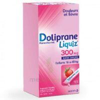Dolipraneliquiz 300 mg Suspension buvable en sachet sans sucre édulcorée au maltitol liquide et au sorbitol B/12 à Cavignac
