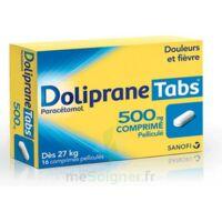 DOLIPRANETABS 500 mg Comprimés pelliculés Plq/16 à Cavignac