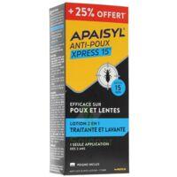Apaisyl anti-poux Xpress 15' +25% offert à Cavignac
