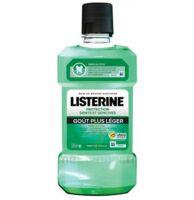 Listerine Protection Dents Gencives Bain Bouche Goût Plus Léger Fl/500ml à Cavignac