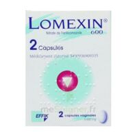 LOMEXIN 600 mg Caps molle vaginale Plq/2 à Cavignac