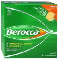 Berocca Comprimés effervescents sans sucre T/60 à Cavignac