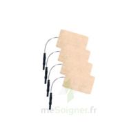 Stimex Electrode Rectangulaire électrostimulation 50x90mm B/4 à Cavignac