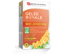 Forte Pharma Gelée Royale Bio 2000 Mg Solution Buvable 20 Ampoules/15ml à Cavignac