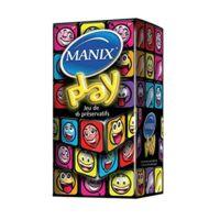Manix Play Préservatif avec réservoir lubrifié B/16 à Cavignac