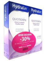 Hydralin Quotidien Gel lavant usage intime 2*200ml à Cavignac