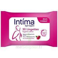 Intima Gyn'expert Lingettes Cranberry Paquet/30 à Cavignac