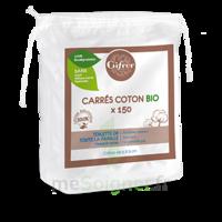 Gifrer Carré Coton Bio Sachet/150 à Cavignac