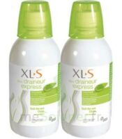 Xls Médical Draineur Express Solution Buvable Thé Vert Citron 2*500ml à Cavignac