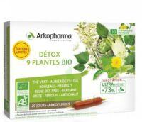 Arkofluide Bio Ultraextract Solution buvable détox 9 Plantes 20 Ampoules/10ml à Cavignac