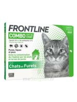 Frontline Combo Solution Externe Chat 3doses à Cavignac