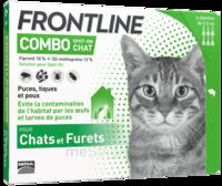 Frontline Combo Solution Externe Chat 6doses à Cavignac