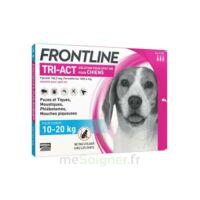 Frontline Tri-act Solution Pour Spot-on Chien 10-20kg 3pipettes/2ml à Cavignac
