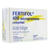 FERTIFOL 400 µg Cpr Plq/90 à Cavignac