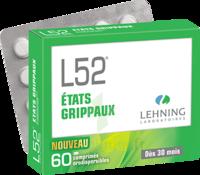 Lehning L52 Comprimés orodispersibles Plq PVC/PVDC/Alu/60 à Cavignac