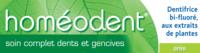 Boiron Homéodent Soin Complet Dents Et Gencives Pâte Dentifrice Anis 2t/75ml à Cavignac