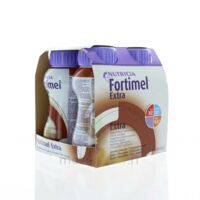 FORTIMEL EXTRA Nutriment chocolat 4Bouteilles/200ml