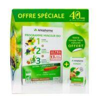 Arkofluides Programme Minceur Bio 30 Ampoules/10ml + Arkogélules Konjac B/45 Offre Spéciale 40 Ans De Santé Naturelle à Cavignac