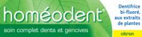 Boiron Homéodent Soin Complet Dents Et Gencives Pâte Dentifrice Citron T/75ml à Cavignac
