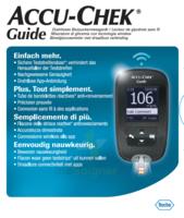 Accu-chek Guide Lecteur De Glycémie Mg/dl (seul) à Cavignac