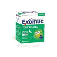 Exomuc 200 Mg, Granulés Pour Usage Oral En Sachet 15 Sachets/2g à Cavignac