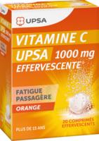 VITAMINE C UPSA EFFERVESCENTE 1000 mg, comprimé effervescent à Cavignac