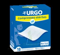 Urgo Compresse Stérile Non Tissée 10x10cm 10 Sachets/2 à Cavignac