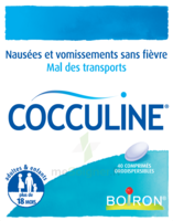 Boiron Cocculine Comprimés Orodispersibles B/40 à Cavignac